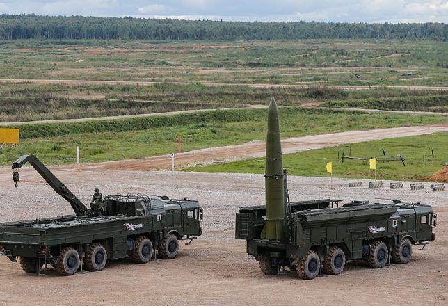 Rosyjskie Iskandery mają zasięg do 500 km