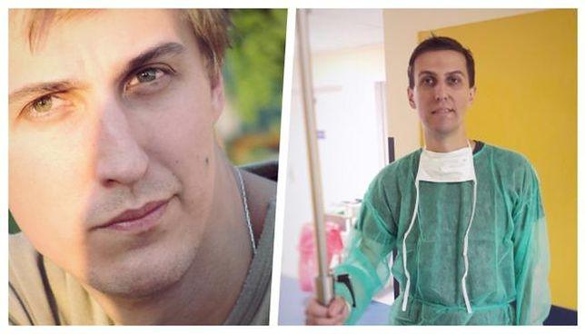 Współtwórca internetu w Polsce prosi o pomoc dla syna. Dominik choruje na białaczkę