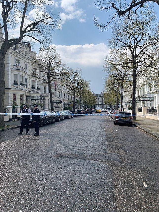 Londyn. Mężczyzna staranował auto ambasadora Ukrainy. Padły strzały