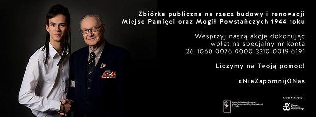 """""""Nie Zapomnij O Nas, Powstańcach Warszawskich"""". Publiczna zbiórka na renowację mogił powstańczych"""