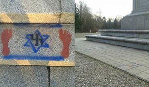 Swastyka i gwiazda Dawida na Cmentarzu Żołnierzy. MKiDN: stanowczo potępiamy