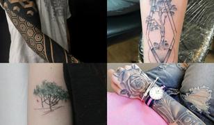 Wzory tatuaży na rękę