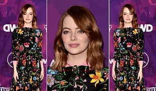 LOOK OF THE DAY: Emma Stone w sukience Gucci