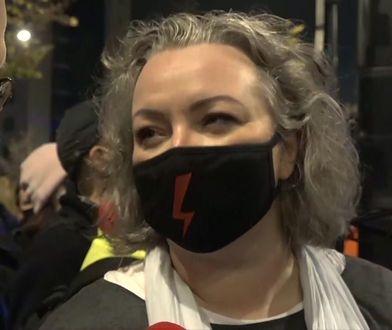 Strajk Kobiet w Warszawie. Marta Lempart ostro o TVP