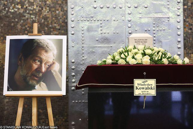 Pożegnanie aktora