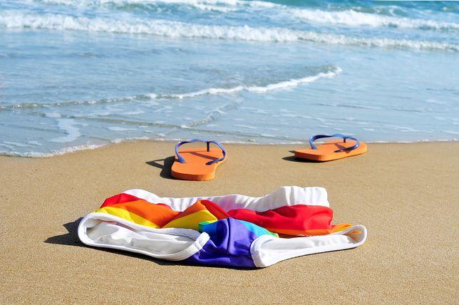 Golasy w na plaży nudystów w Lubiewie nie czują się już komfortowo