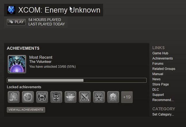 Jak widać, trochę już pograłem :)