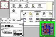 DOS, Windows i ochrona pamięci - Windows 3.0 - z wyglądu trochę mniej kolorowy Windows 3.1, pod maską ewolucja rozwiązań 2.1