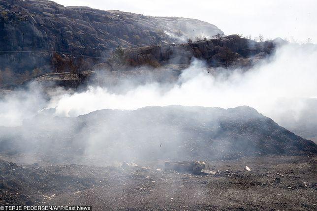 Pożary w Norwegii. W okolicach Sokndal trzeba było ewakuować ponad 220 osób