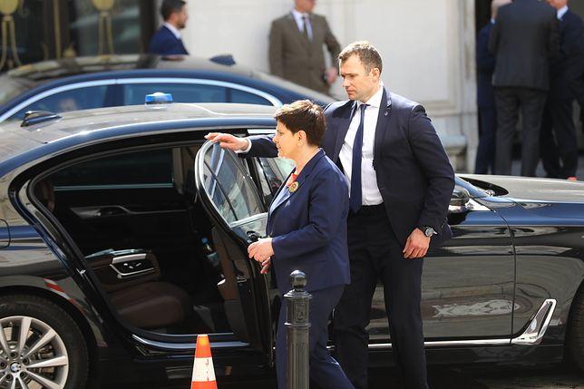 Beata Szydło ma ochronę nieprzerwanie od chwili, kiedy została premierem