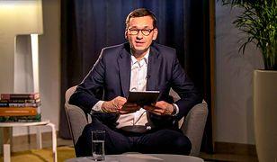 Mateusz Morawiecki odpowiadał na pytania internautów zadawane na Facebooku