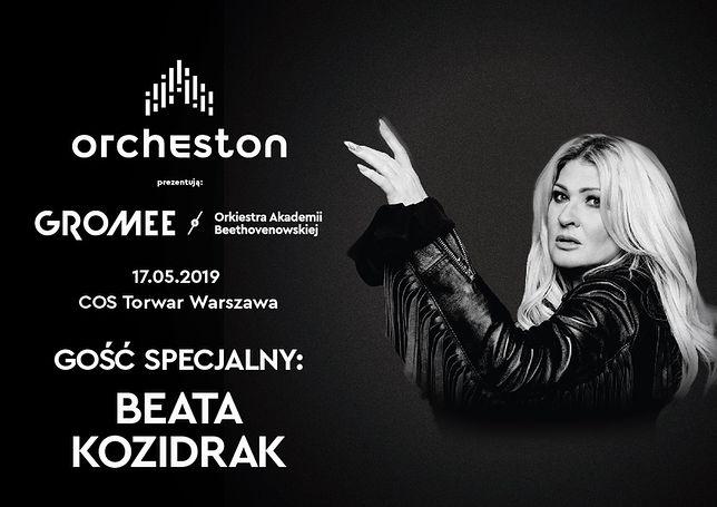 Beata Kozidrak głównym głosem Orchestonu