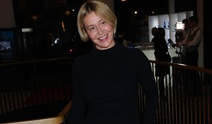 Katarzyna Warnke na premierze nowej kolekcji Mokobelle
