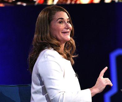 Melinda Gates chętnie wspiera potrzebujących