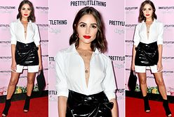 LOOK OF THE DAY: Olivia Culpo bawi się w black and white