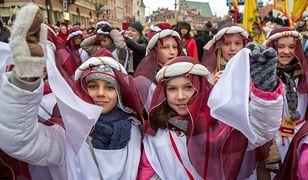 Orszak Trzech Króli po raz siódmy w Warszawie