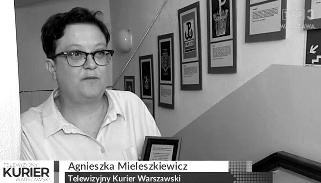 Agnieszka Mieleszkiewicz zmarła w wieku 47 lat.