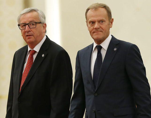 Jean-Claude Juncker i Donald Tusk