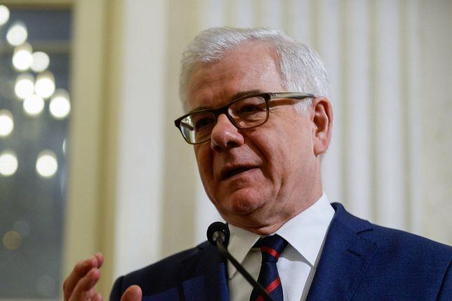 Czaputowicz potępił wypowiedzi izraelskich polityków