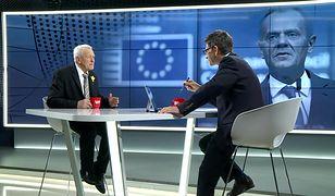 """Morawiecki o Tusku. """"Zaburza europejskie standardy"""""""