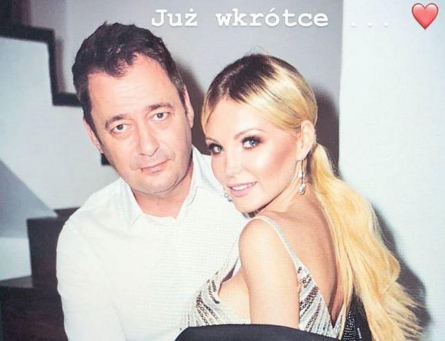 Jacek Rozenek i Roksana Gąska