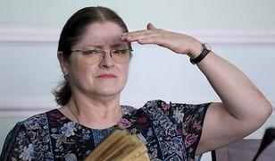 Krystyna Pawłowicz dotrzymuje słowa. Żegna się z polityką