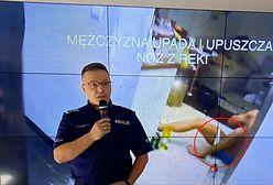 Śmierć 29-latka z Wrocławia. Policja opublikowała nagranie z interwencji