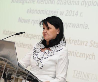 Podsekretarz w MSZ odwołana. Powodów nie podano