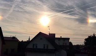 Słońca poboczne to jeden z najczęściej obserwowanych typów halo