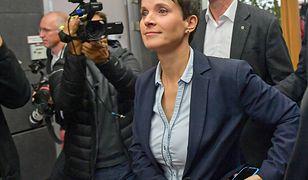 Frauke Petry ogłosiła swoją decyzję i wyszła z sali
