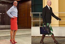 Mark Bryan uwielbia nosić szpilki i spódnice. Jego stylizacje podbijają sieć