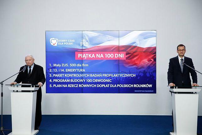 Oświadczenie prezesa PiS Jarosława Kaczyńskiego i premiera Mateusza Morawieckiego.