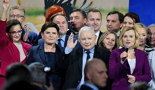 Konwencja wyborcza Prawa i Sprawiedliwości w Kielcach.