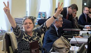 Krystyna Pawłowicz milczała o marszu. Do czasu