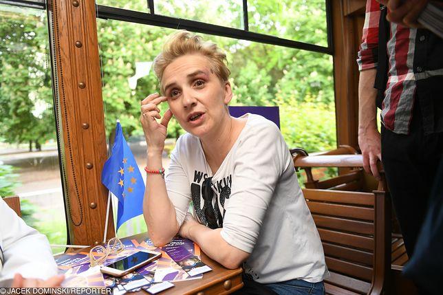 Joanna Scheuring-Wielgus tłumaczy się z oddania swoich psów do schroniska