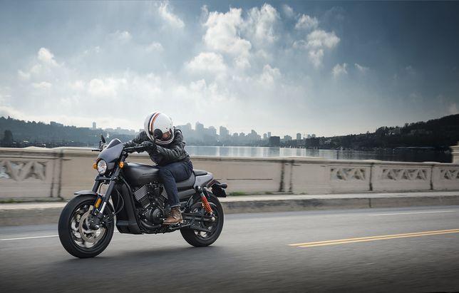 Nowy motocykl firmy Harley-Davidson