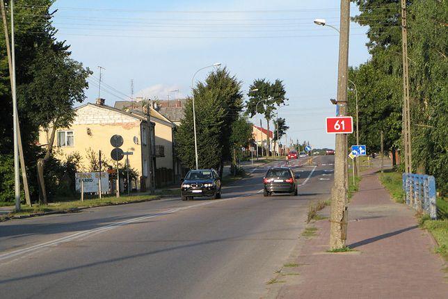 Droga krajowa nr 61 przebiega przez dwa województwa: mazowieckie oraz podlaskie