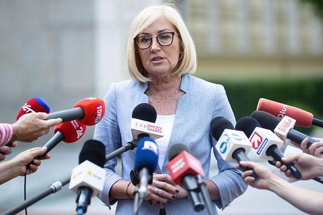 Joanna Kopcińska zdradziła, że od początku nie popierała tej formy protestu rodziców osób niepełnosprawnych
