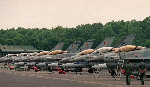 Belgia przyłącza się do wojny z Państwem Islamskim. Szykuje myśliwce F-16
