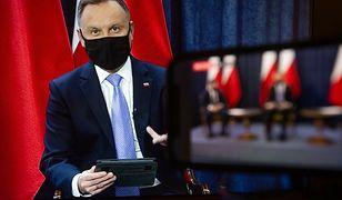 Prezydent Andrzej Duda zabrał głos ws. oddelegowanych prokuratorów