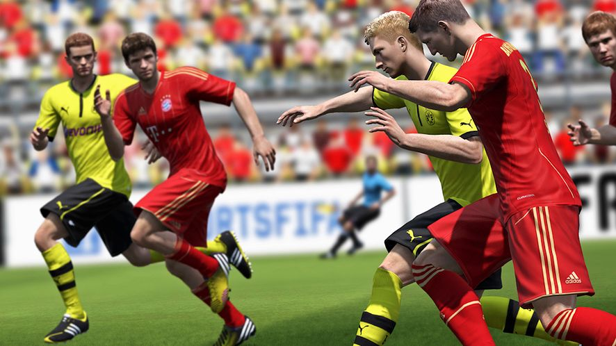Nowy zwiastun FIFA 14 — Global Transfer Network