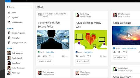 Microsoft wprowadza uczenie maszynowe i pakiet Delve do usługi Office 365