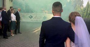 Wstrząsające zdjęcia ze ślubu w Lublinie. W sieci zawrzało