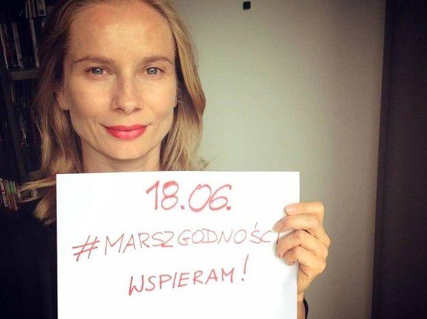 Cielecka, Maleńczuk, Brodka, Wodecki: artyści wspierają Marsz Godności