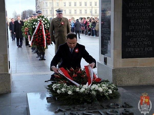 Warszawskie obchody 97. rocznicy Powstania Wielkopolskiego