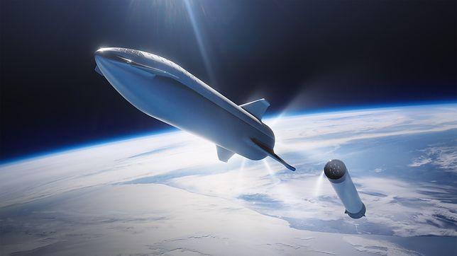 Starship ma dostarczyć ludzi na Księżyc już w 2024