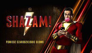 """""""Shazam!"""" to film akcji na podstawie serii komiksów wydawnictwa DC Comics."""