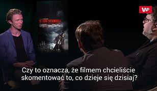 Upiorne opowieści po zmroku - rozmowa z Guillermo del Toro