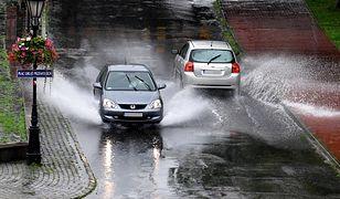 Pogoda. Ulewy przeszły nad Przemyślem i innymi miastami Podkarpacia