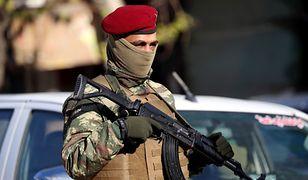 Kurdyjski żołnierz na północy Syrii